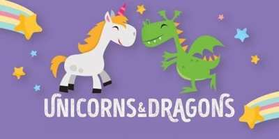 Fabulous Fantasy Unicorns and Dragons February Mid Term Break Camp 2019